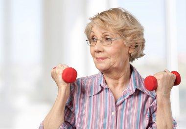 Senior Adult, Exercising, Relaxation Exercise.