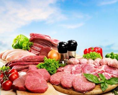 Meat, Freshness, Butchers Shop.