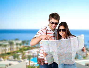 Travel, travelling, summer. stock vector