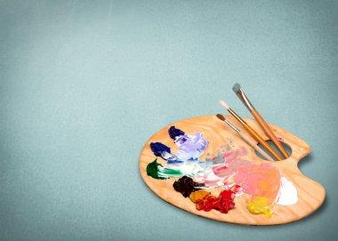 Artist, paint, art.
