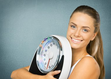 Dieting, Exercising, Weight Scale.