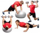 Fotografie Exercising, Men, Sport.