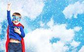 Gyerek, szuperhős, cape.