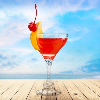 Cocktail, cocktails, martini.