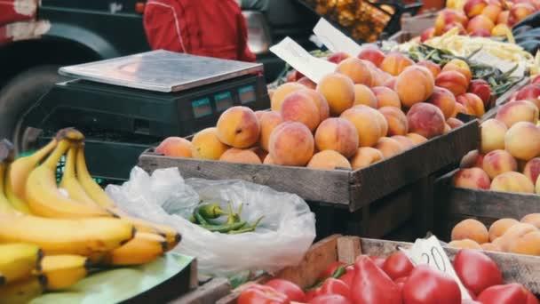 Vitrine Obst und Gemüse