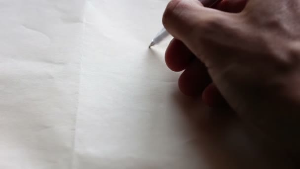 Draw a heart and says I love you on paper.