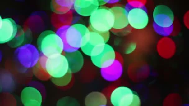 The lights of the Christmas tree