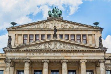 Facade of concert Hall in Berlin