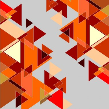 Graphic background in red and orange colors