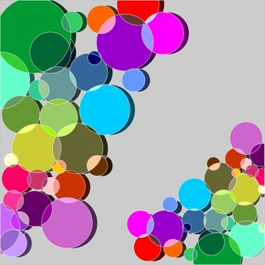 Rainbow graphics multicolored
