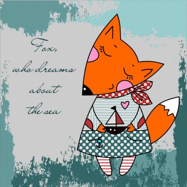Fox, who dreams about the sea