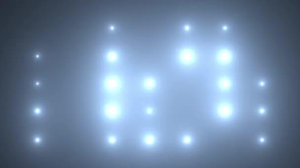 Fáze osvětlení pozadí smyčky animace