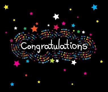 Congratulations text