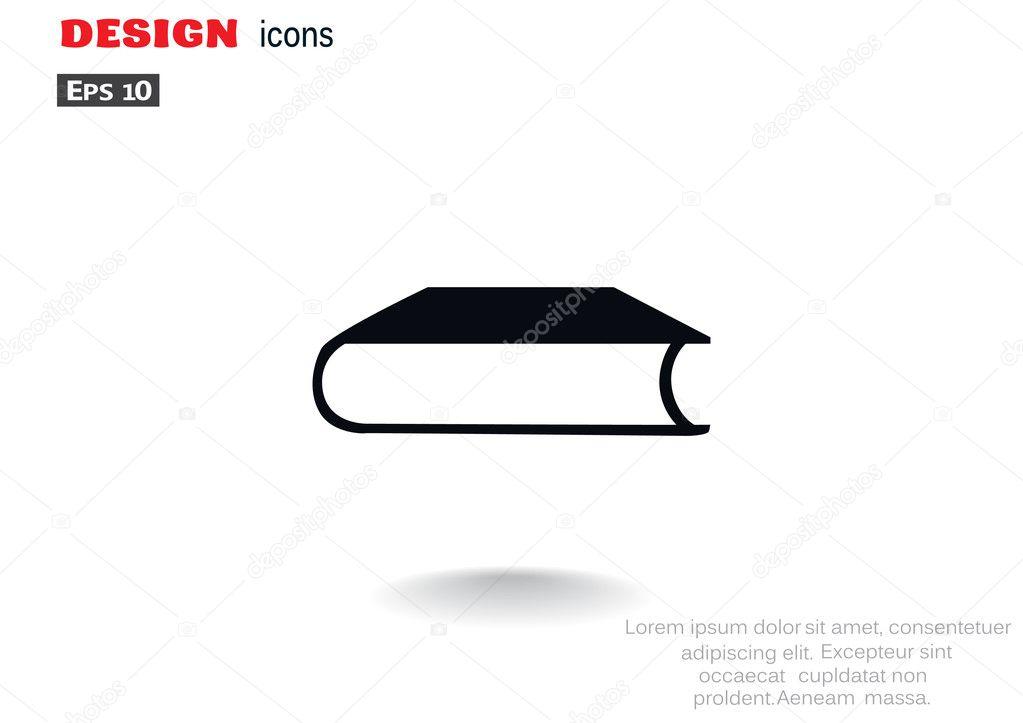 Geschlossenes Buch Web-Symbol — Stockvektor © LovArt #118681616
