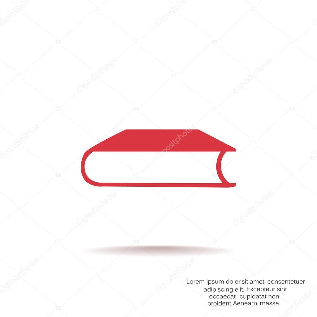 Geschlossenes Buch Web-Symbol — Stockvektor © LovArt #118684722
