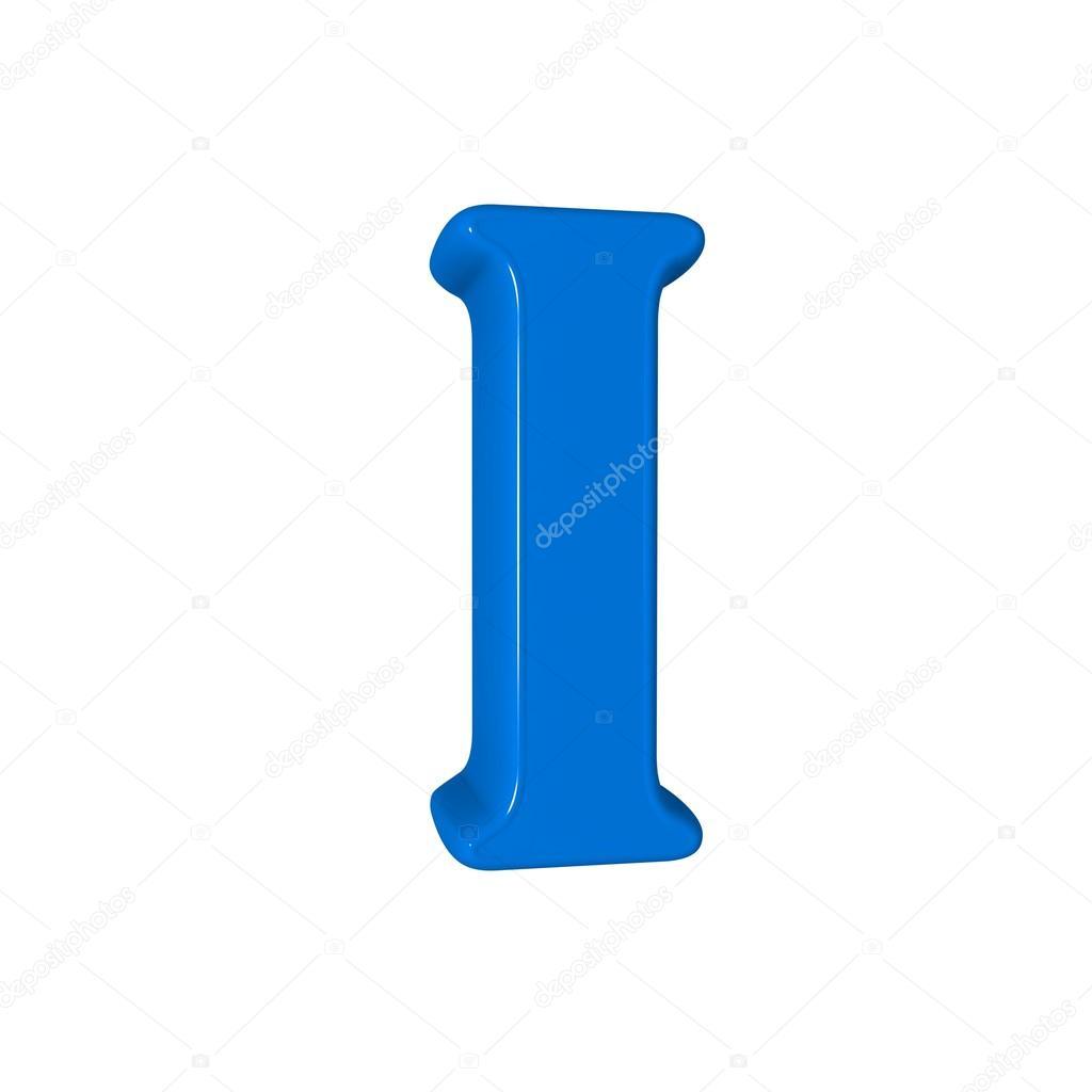 Single I Alphabet Letter Stock Photo Lovart 65442025