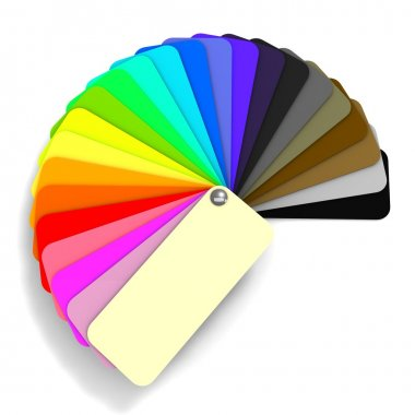color guide with shade
