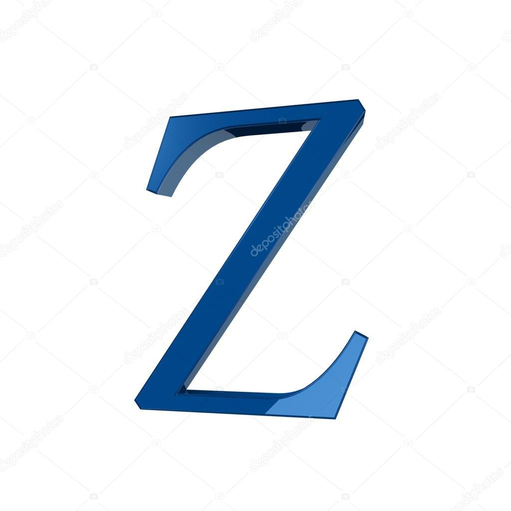 Single Z Alphabet Letter Stock Photo Lovart 66404401