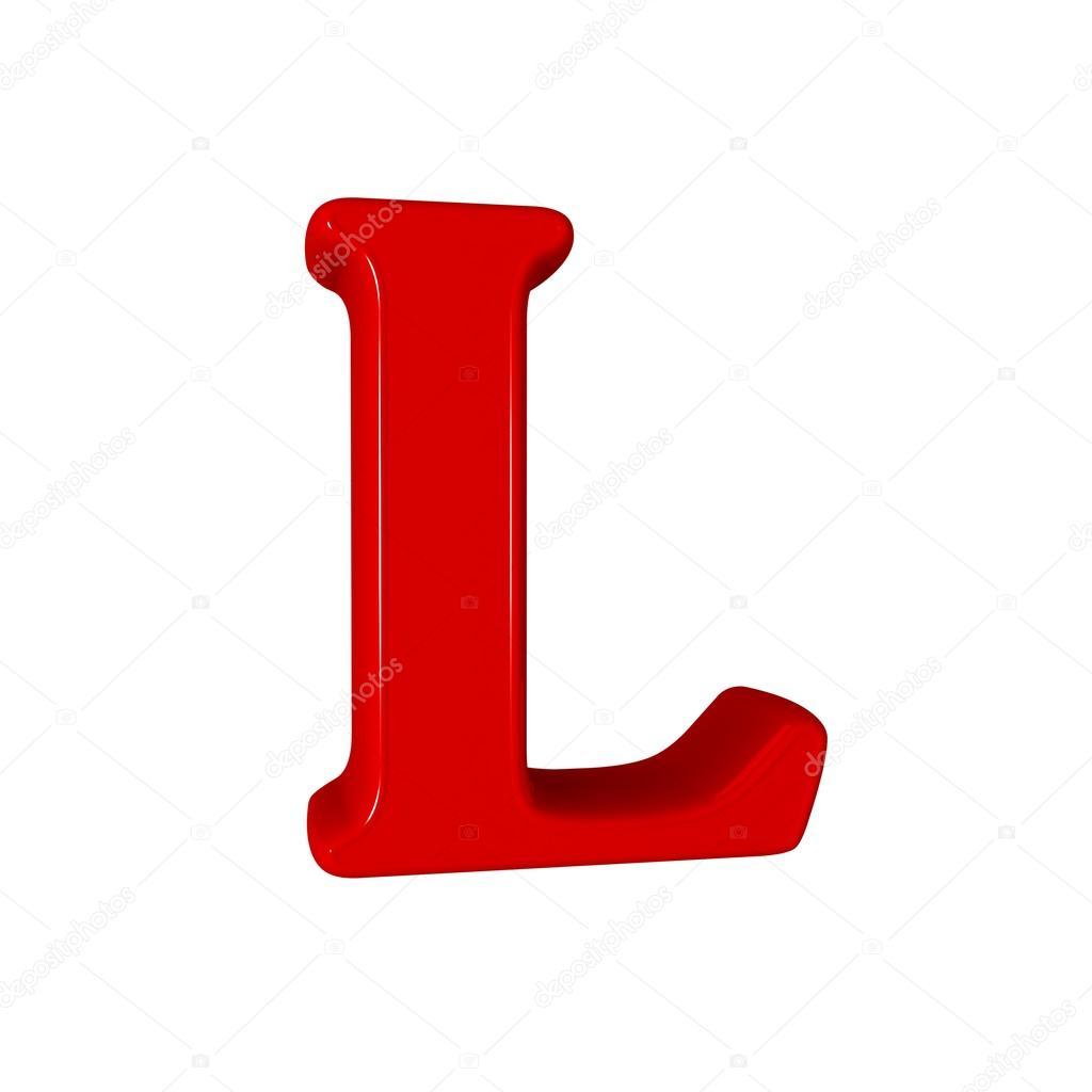 Lettre L alphabet — Photographie LovArt © #66404413