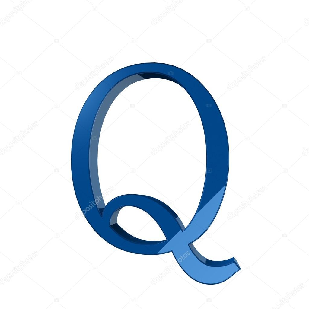 Single Q Alphabet Letter Stock Photo Lovart 66404721