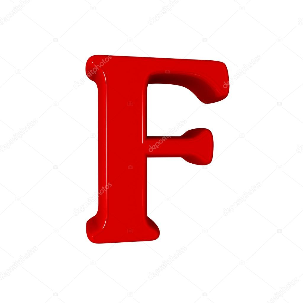 Single f alphabet letter stock photo c lovart 66404773 for Alphabet photo letters