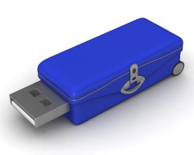 USB card reader isolated