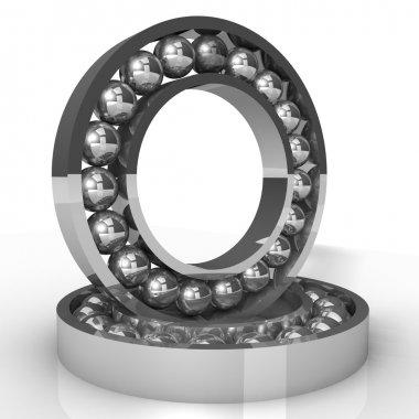 Ball bearings 3d