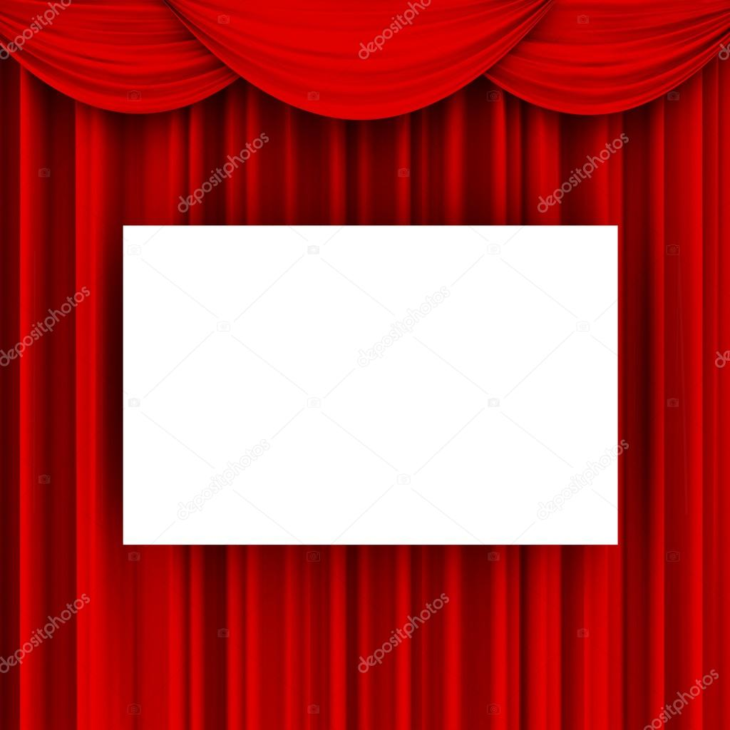 Curtain With Crossed Beams Stock Photo Image By C Lovart 66649029