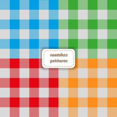 Plaid colorful pattern