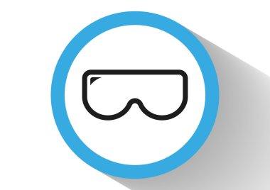Scuba mask web icon