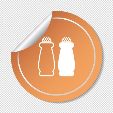 Icon of salt and pepper
