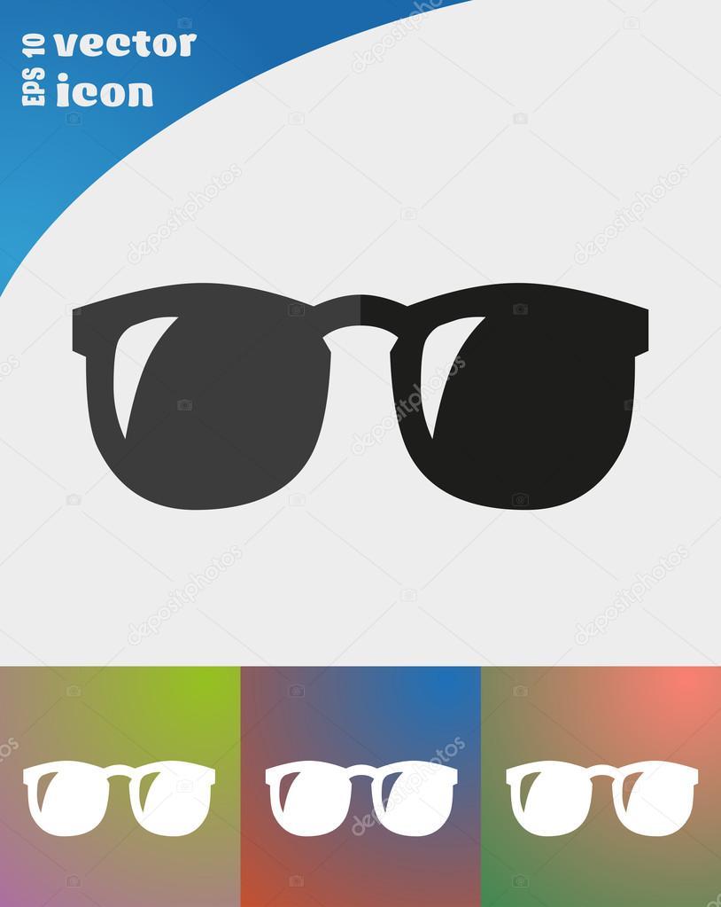 Vektoros illusztráció napszemüveg web ikon — Vektorok LovArt szerint f13dcd276b