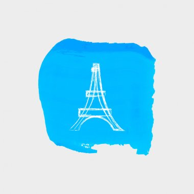 Eiffel Tower web icon