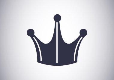 Crown VIP sign web icon