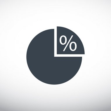 Percentage web icon