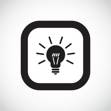Light bulb web icon