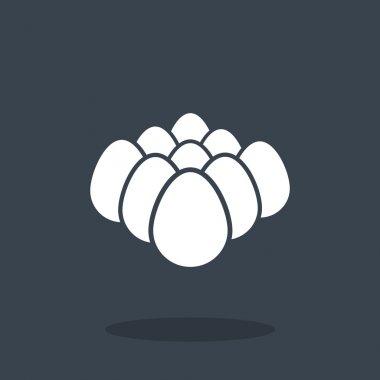 Chicken eggs icon