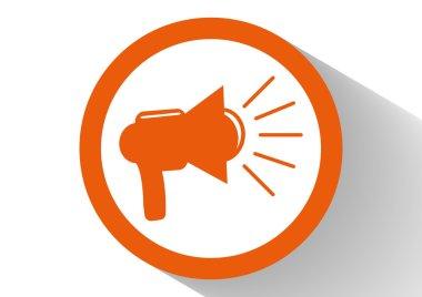 Loudspeaker web icon