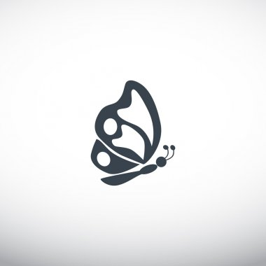 Butterfly web icon