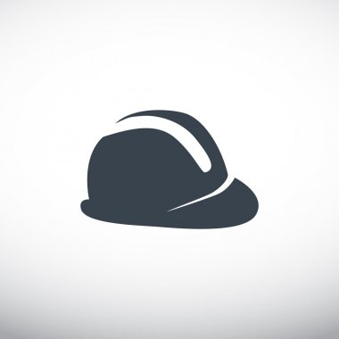 construction hat, web icon