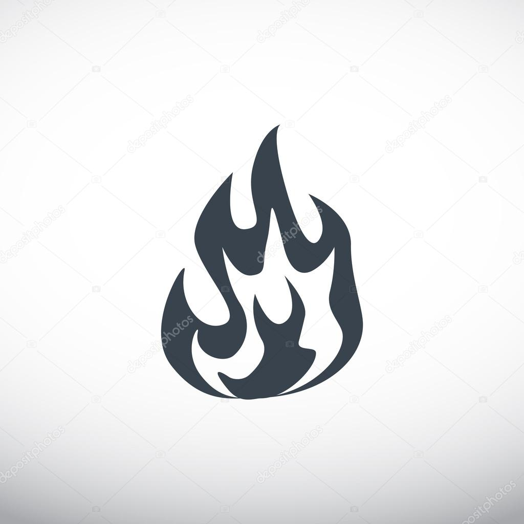 Fire flames icon