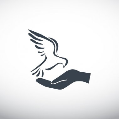 Dove web icon