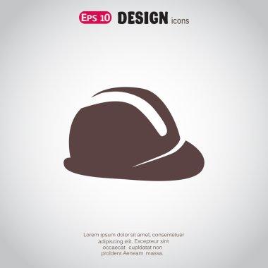 construction hat, web icon