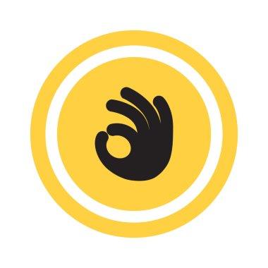 Ok gesture web icon