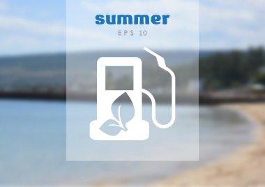 Gas web icon