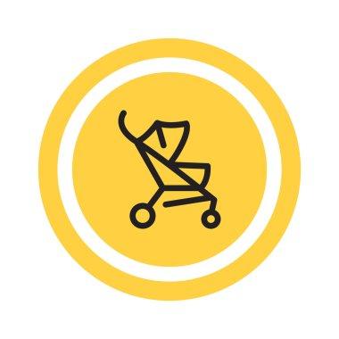 Stroller web icon