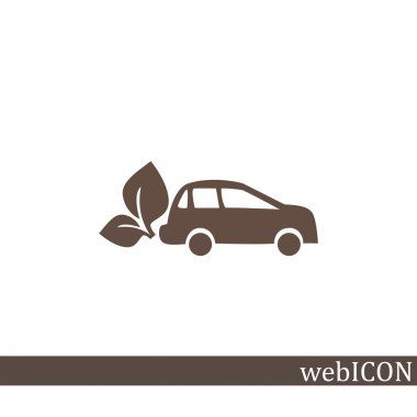 Eco fuel simple icon
