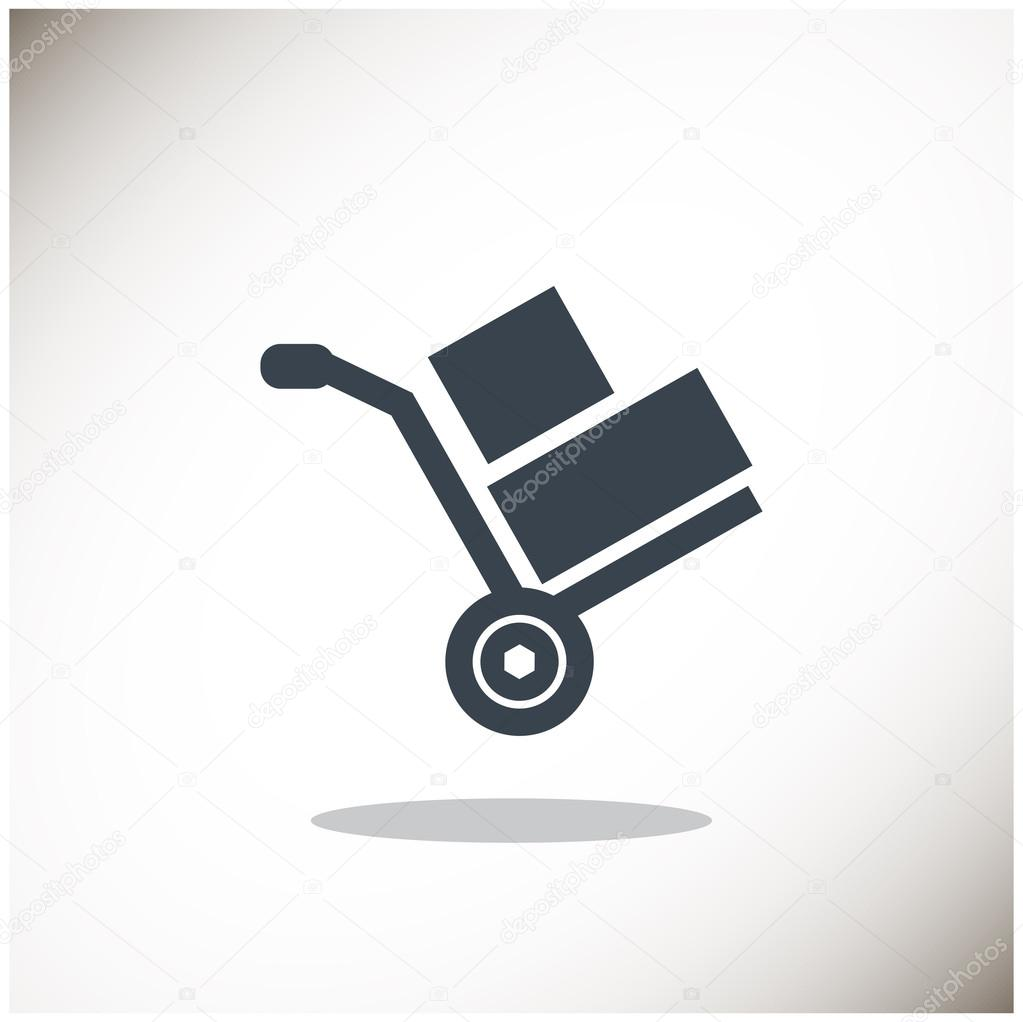 wheelbarrow for transportation of cargo