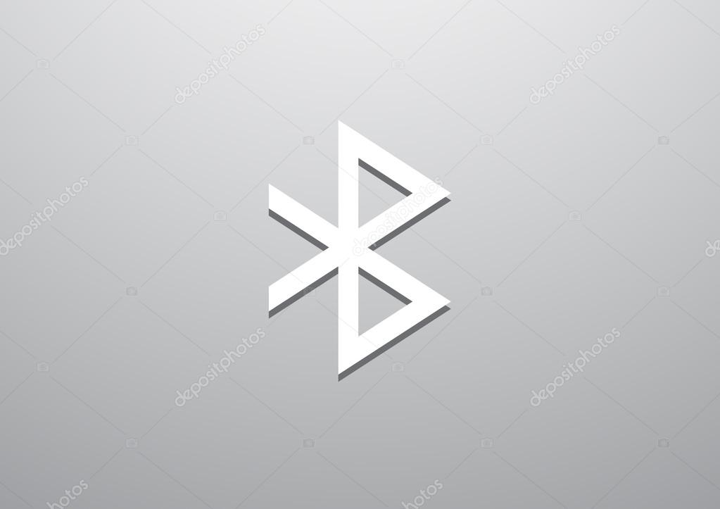 Bluetooth Symbol Web Icon Stock Vector Lovart 76976387