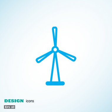 Wind generator web icon